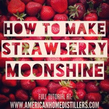 How to Make Strawberry Moonshine